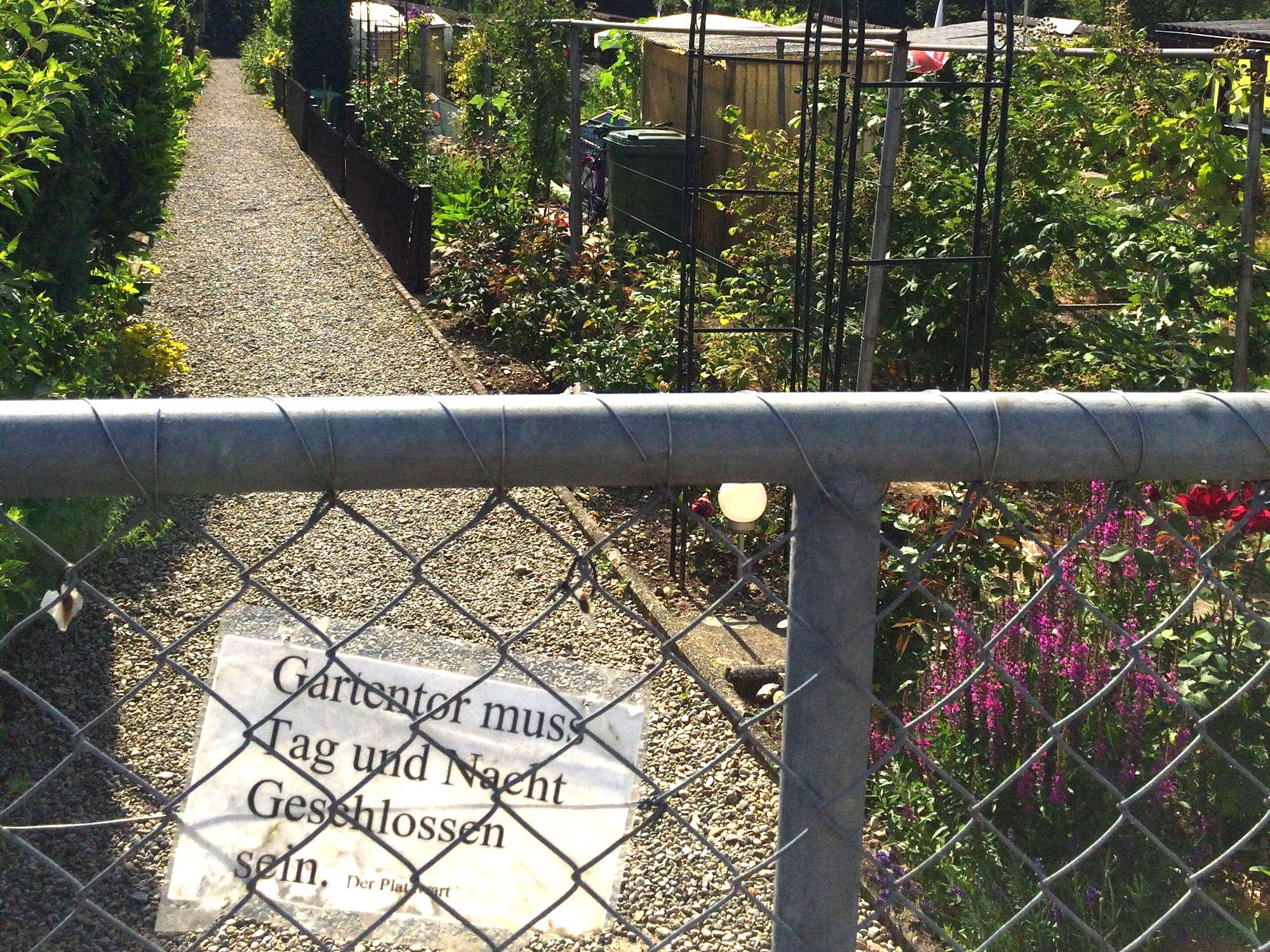 Zeitgemäße Rahmenbedingungen für städtisches Gärtnern
